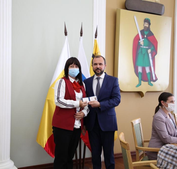 Виолетта Чёрная, Председатель Рязанского регионального отделения Российского экологического общества